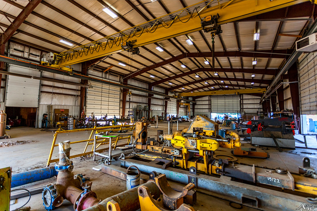 15,000 sf. Welding Workshop